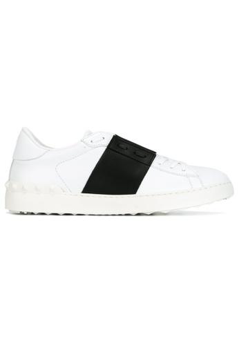 VALENTINO GARAVANI 白色 VALENTINO GARAVANI/ 華倫天奴 OPEN 低幫運動鞋 0AB38SHA8AE2C2GS_1