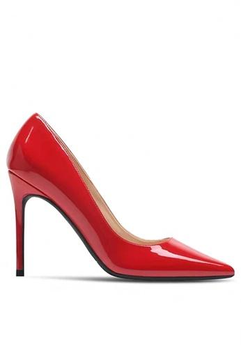 Twenty Eight Shoes 10CM Faux Patent Leather High Heel Shoes D01-q 165F6SH2374EA9GS_1