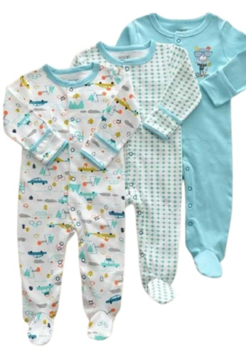 RAISING LITTLE multi Piwie Romper Set E69ADKAF085699GS_1