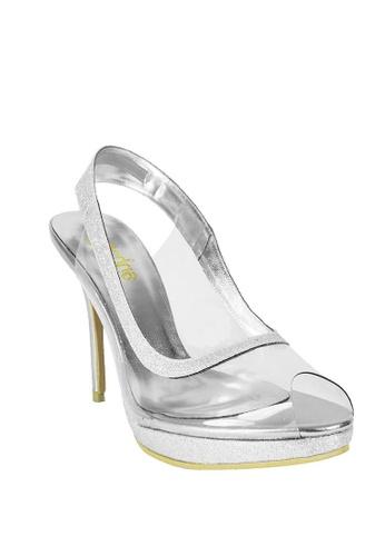 121f3ef72ca Buy Jacque Arma Silver Heel Online