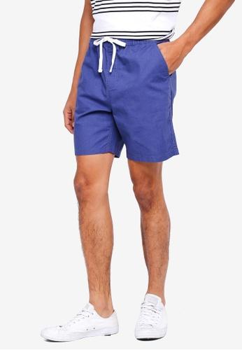 Cotton On blue Easy Shorts E2A91AA9F0CE5AGS_1