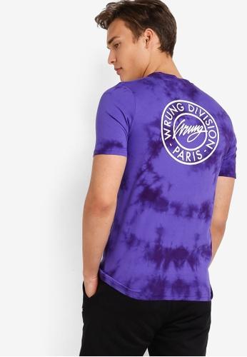 Wrung purple 75th. Div T-Shirt WR395AA89MPMMY_1