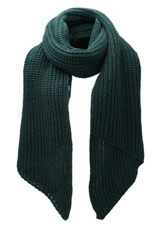 ONLY ONE Lucky Metallic Knit Scarf