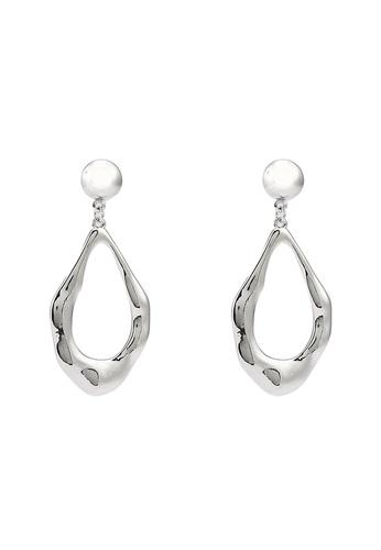 niko and ... silver Teardrop Dangle Earrings 8DC65ACE45F5ADGS_1