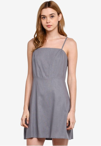 Cotton On grey Woven Krissy Dress 6EF46AAD88F987GS_1