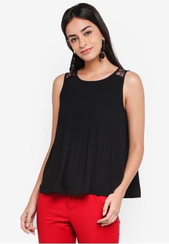 Vero Moda black Gudrun Sleeveless Top 04760AA7E19055GS_1