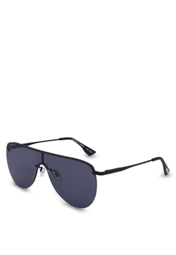 Le Specs black The King 1702052 Sunglasses E6A15GLDF4530CGS_1