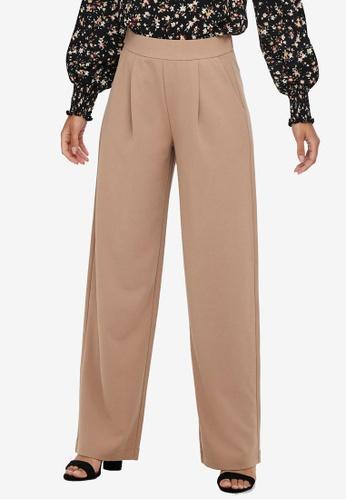 JACQUELINE DE YONG beige Catia Laney Wide Pants 09C60AAF5A9380GS_1