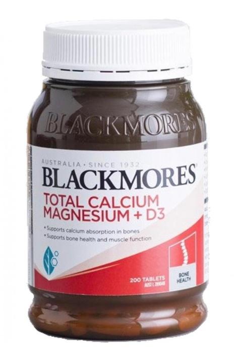 BLACKMORES BLACKMORES - 活性鈣片D3+鎂配方 200粒