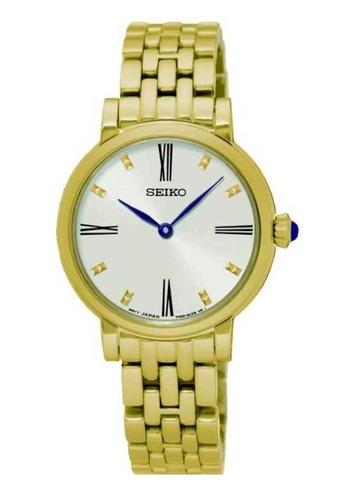 Seiko gold Seiko Gold Stainless Steel Watch SE382AC0UCRXID_1