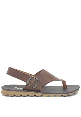 Dr. Kevin brown Dr. Kevin Men Sandals 9614 - Brown 99372SHF6BB25DGS_1