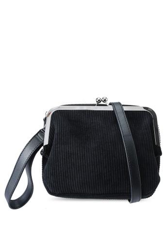 Red's Revenge black Ava Pouch Crossbody Bag B5838ACF79A30AGS_1