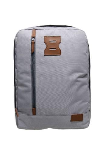 NAOKI grey NAOKI by Mayonette Nethan Backpack - Grey MA831AC28DEPID_1