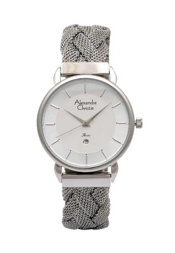 Alexandre Christie silver Alexandre Christie Jam Tangan Wanita - Silver White - Stainless Steel - 2857 LDBSSSL DDD19AC666063EGS_1