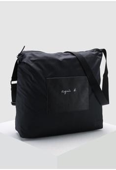 2ea8888047 Agnes B Brand Print Messenger Bag S$ 275.00. Sizes One Size