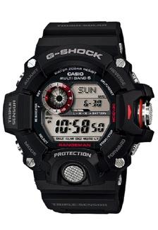 Casio G-Shock G-9400-1A Jam Tangan Pria Rubber Strap Hitam Merah
