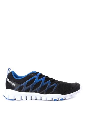 Reebok black Realflex Train 4.0 Training Shoes RE600SH62OEVPH_1