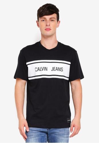 Calvin Klein 多色 CJ Stripe Relax Tee - Calvin Klein Jeans 666E8AA55290AAGS_1