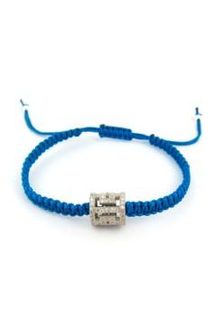 Deco Pavé Sterling Silver 925 Bracelet
