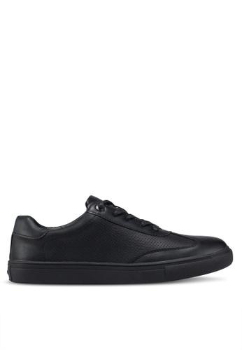 Bata black Round Toe Sneakers 19D55SH6B7310BGS_1