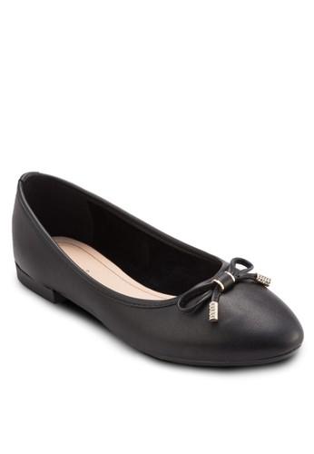 蝴蝶結esprit outlet 桃園尖頭平底鞋, 女鞋, 芭蕾平底鞋