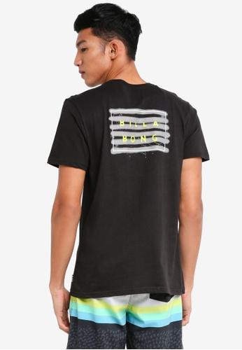 Billabong 黑色 短袖印花T恤 BI783AA0SXGSMY_1