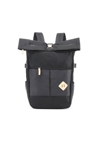 GreyPlus black JAC Backpack GR720AC0F9QJSG_1