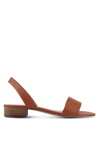 ALDO 褐色 Candice Heeled Sandals 4D041SHF44BC6AGS_1