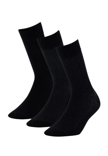 DeFacto black 3-pack Socks F230CAADAEF019GS_1
