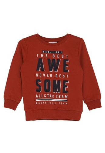 NAME IT red Vildar Long Sleeves Sweater 82218KABCFBF9FGS_1