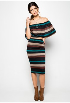 Bianca Off Shoulder Terno Skirt