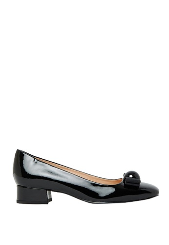 Nina Armando black Elsa Patent Leather low Heel NI342SH0FV44SG_1