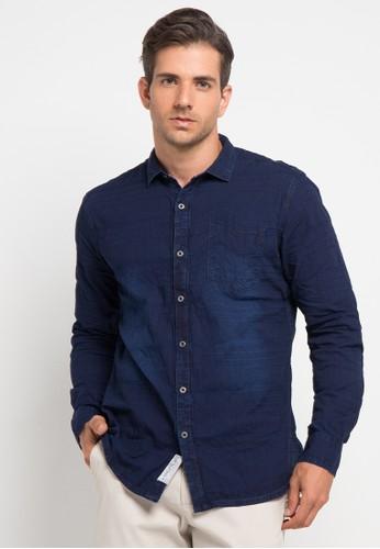 X8 navy Drake Shirts X8323AA0V7L6ID_1