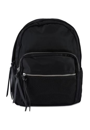 NUVEAU black Oxford Nylon Backpack 6C019AC34AE191GS_1