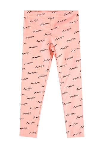 FOX Kids & Baby pink Kids-Girls All Over Print Leggings 1BD7DKA8DC5C46GS_1