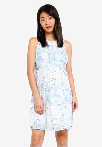 Spring Maternity multi Maternity Clarabelle Dress 9D704AA1FCB7E4GS_1