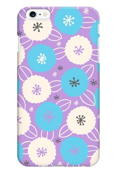 Cotton Flower All Glossy Hard Case for iPhone 6+