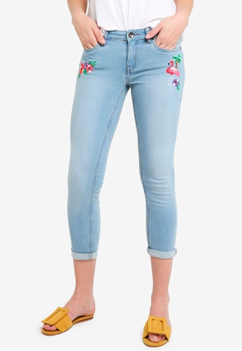 OVS blue Cropped Jeans 33162AA0AC2009GS_1