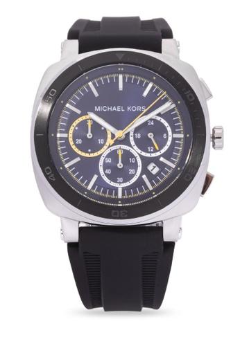 MICHAEL KORS black Retrodome Chronograph Watch MI248AC0K959PH_1
