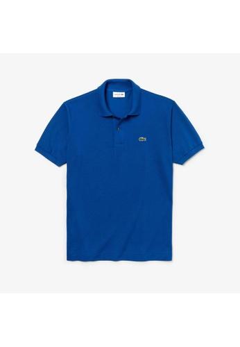 Lacoste blue Lacoste Men's L.12.12 Polo Shirt 1E3C5AA87A3242GS_1