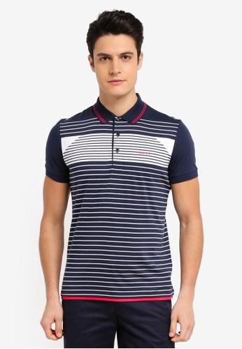 BOSS navy Paddy 5 Shirt - Boss Athleisure 0BE21AA3868625GS_1