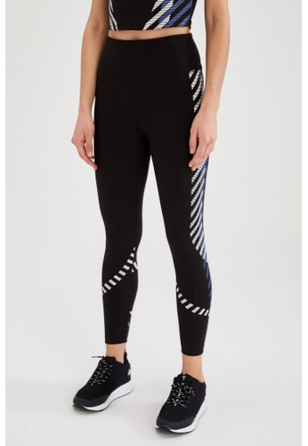 DeFacto black Woman Athleisure Knitted Legging 208B5AAB68F27FGS_1