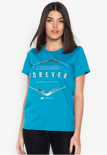 Worship Generation blue Forever Tee D2B4AAA896CCF7GS_1