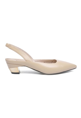 Byford beige and  Maud Sling-back Heels 250D4SHEB68AE2GS_1