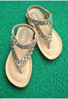 TNL Rhea Sandals (Beige)
