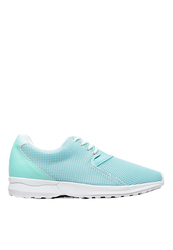 Life8 iStarKu X MRJ Co-Branded Elastic Sporty Shoes-09706-Green LI286SH0RUU8MY_1