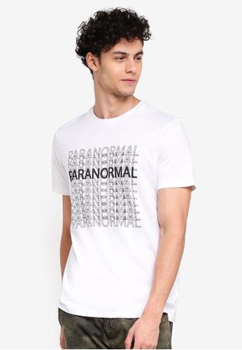 Cotton On 白色 休閒印花T恤 9EA02AAF4CBCC3GS_1