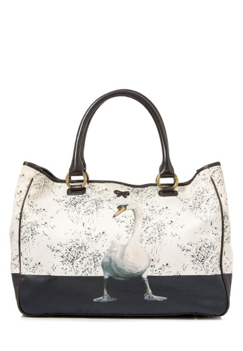 ANYA HINDMARCH multi Pre-Owned Anya Hindmarch Printed Nylon Tote 6C1C2AC16B9167GS_1