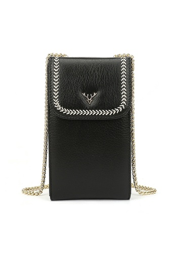 HAPPY FRIDAYS Stylish Leather Chain Shoulder Bags JN33 16102AC7112C58GS_1