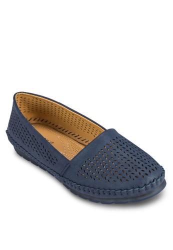 雕花懶人鞋, 女esprit台灣outlet鞋, 船型鞋